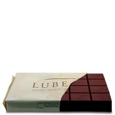 בלוק שוקולד חלב 35.5% LUBECA- קילו 2.5 אלמנדוס