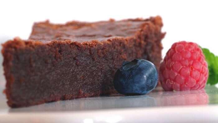 מתכון עוגת טארט שוקולד עם מקלות וניל